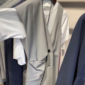 Brand new max mara suit vest dress